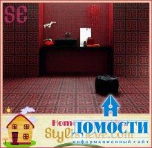 Мозаичные объемы в доме