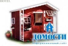 Детские домики в ландшафтном дизайне