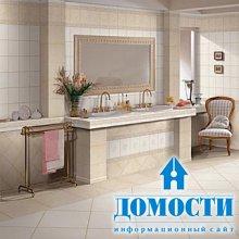 Кафельный дизайн ванных