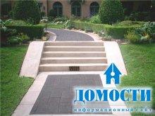 Современный дизайн бетонных дорожек