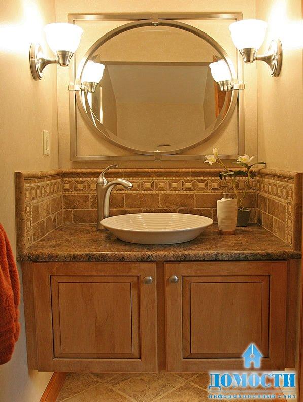 Ванные комнаты в панельных домах не