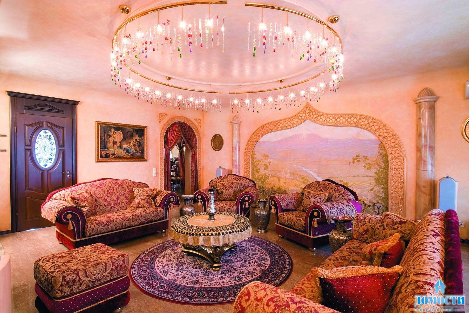 Восточный декор дома