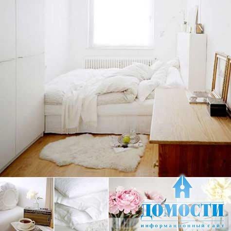 Фото спален с комбинированием обоев маленьких спален 1