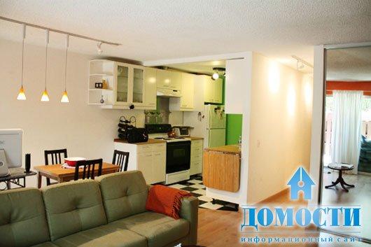 Интерьеры совмещенных кухонь-гостиных