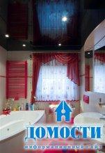 Лучший материал для потолка в ванной