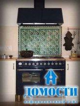 Кухонный фартук ручной работы