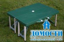Дизайн походного стола