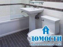 Дизайн ванной в телефонной будке