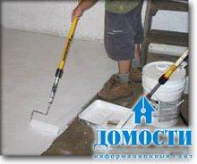 Покраска бетона эпоксидным составом