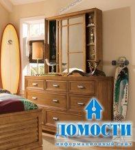 Традиционные столики в спальне