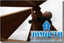 Возведение сборного дачного домика
