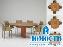 Как квадратный стол превратить в овальный
