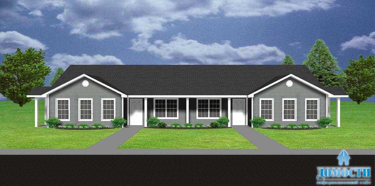 Двухквартирные жилые дома – это