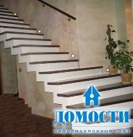 Как производят монолитные лестницы