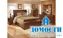 Традиционный стиль спальной мебели