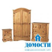 Дизайн сосновой мебели