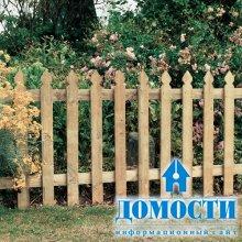 Деревянное украшение двора