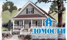 Проекты домов бунгало