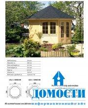 Домокомплекты дачных домиков