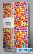 Дизайн наклеек на холодильник