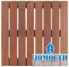 Плитка из бразильской древесины
