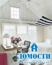 Спальня – белоснежный оазис
