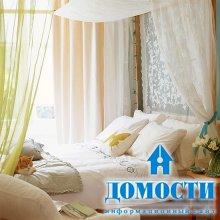 Спальни порядочных цветов