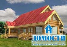Проекты бревенчатых домов