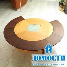 Стол, сохраняющий форму