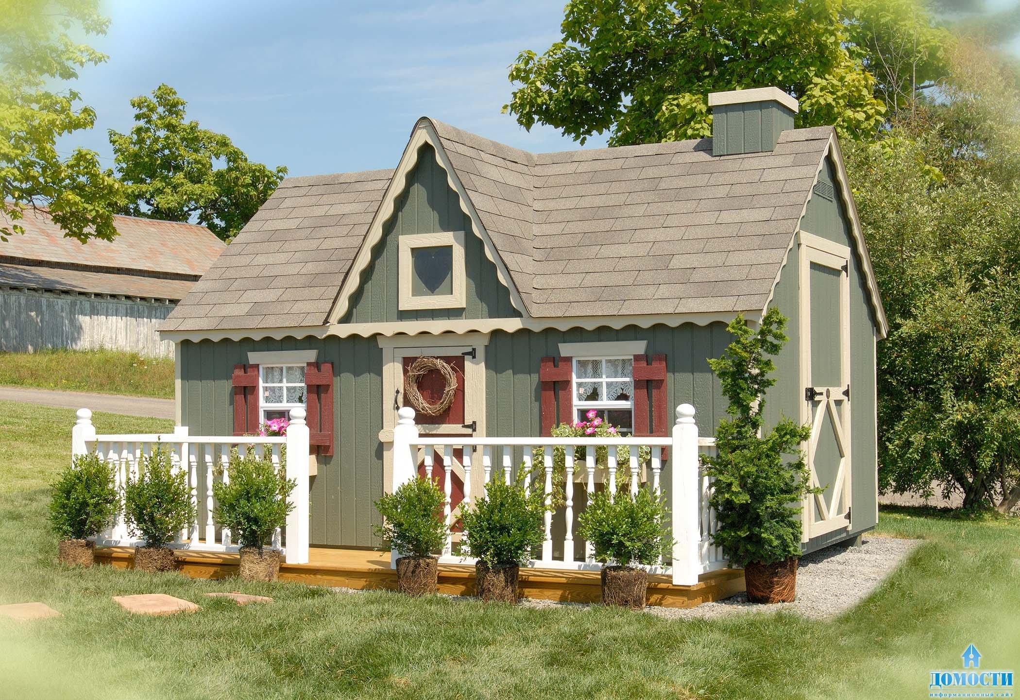 Цвета дачных домов