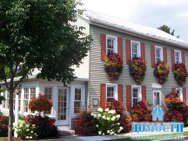 Фото цветов на фасады