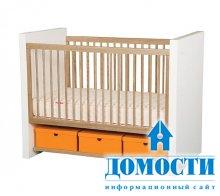 Первые кроватки для ребенка