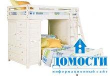 Кровати для тесных детских