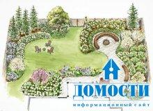 Проектирование дизайна двора