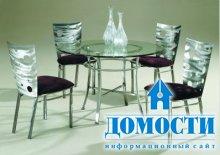 Прозрачные кухонные столы