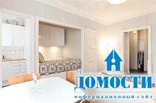 Маленькая квартира со спальной нишей