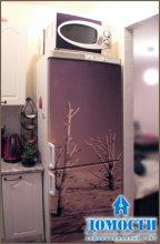 Простое украшение холодильников