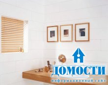 Пластиковая имитация дерева и камня для ванных
