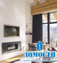 Интерьер дома на горнолыжном курорте