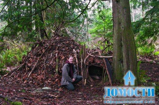 Как сделать шалаш в таёжном лесу? (фотоотчёт) .