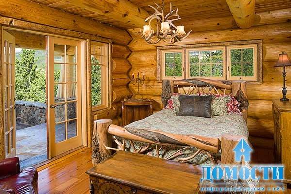 Особенности интерьера деревянных