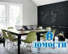 Традиционно-современный интерьер дома