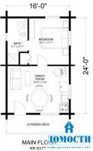 Планировки загородных домов