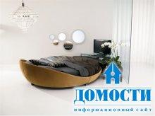Изысканные кровати из кожи