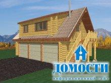 Гараж под домом – удобно и практично