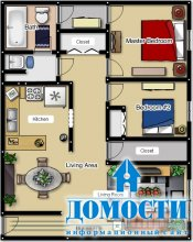 Планировки квартир «трёшек»