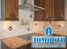 Плиточный дизайн современной кухни