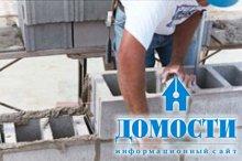 Бетонные блоки в домостроении