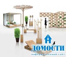 Креативная мебель во двор