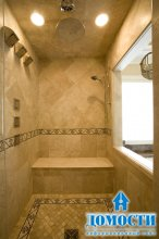 Кафель в дизайне ванных